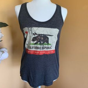 Reflex California Republic Racerback Tank Top.
